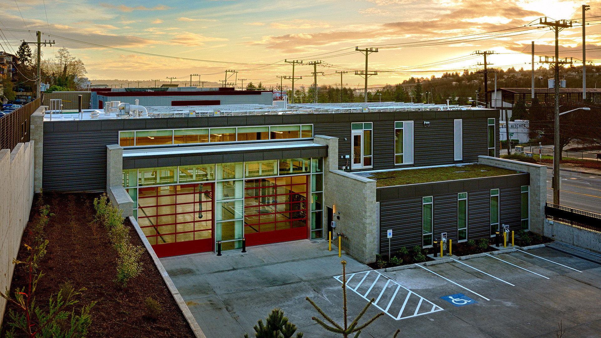 New Fire Station On West Queen Anne Hill