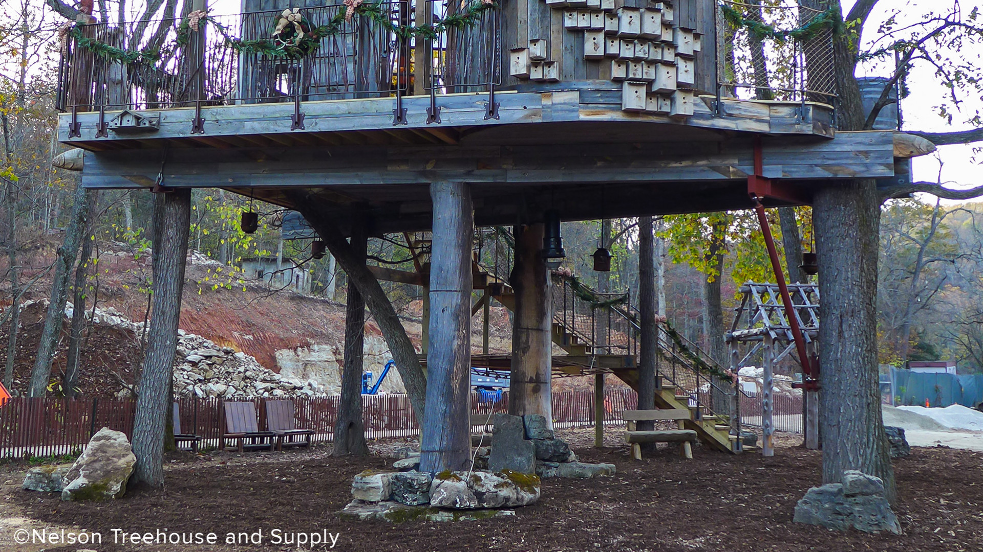 Dogwood Canyon Luxury Treehouse Support