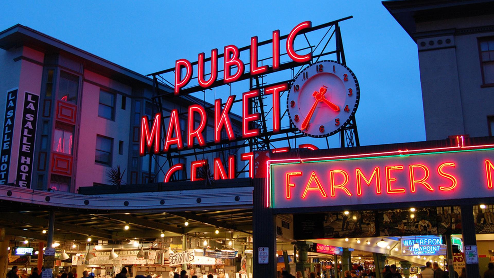 Entrance Design Pike Place Market Swenson Say Fag 233 T