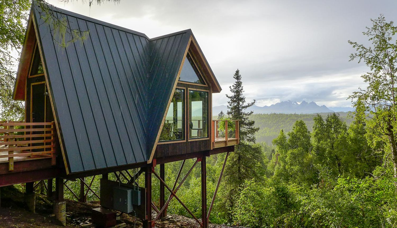 Alaskan Mountain Treehouse Swenson Say Fag 233 T